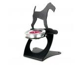 Taschen & RucksäckeCanvas Tasche HunderasseFoxterrier Drahthaar Teelichthalter aus Stahl