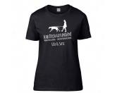 Bekleidung & AccessoiresHundesportwesten mit Hundesprüchen inkl. Rückentasche MIL-TEC ®Hundesport T-Shirt Damen -Mantrailing 7-