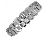 Für MenschenNostalgische GeschenkartikelEnergy and Life Magnetschmuck - Armband 4in1 Pfötchen -matt-