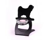 Schmuck & AccessoiresSchmuck für KatzenfansTibet Terrier Teelichthalter aus Stahl
