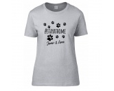 Schmuck & AccessoiresPfötchen SchmuckHundesport T-Shirt -stay at home