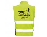 Bekleidung & AccessoiresWarnwesten & SicherheitswestenHundesport Safety Softshell Warnweste Sicherheitsweste: Mantrailing 8
