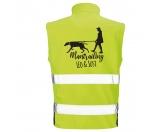 Für Menschen% SALE %Hundesport Safety Softshell Warnweste Sicherheitsweste: Mantrailing 7