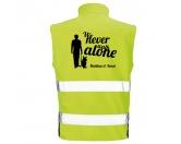 Für MenschenUNSERE BESTSELLERHundesport Safety Softshell Warnweste Sicherheitsweste: Never walk alone 3