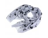 Taschen & RucksäckeShopper für HundefreundeBorder Collie - Schal Hundemotiv Grau