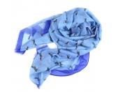 Bekleidung & AccessoiresT-ShirtsHusky - Schal Hundemotiv Denim