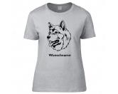 Schmuck & AccessoiresHunderassen-Broschen versilbertAlaskan Malamute 2 - Hunderasse T-Shirt