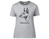 SchlüsselanhängerSchlüsselanhänger versilbertBasenji - Hunderasse T-Shirt