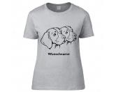 Leben & WohnenHundemotiv HandtücherBeagle 2 Köpfe - Hunderasse T-Shirt
