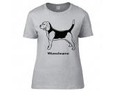 Leben & WohnenHundemotiv HandtücherBeagle stehend - Hunderasse T-Shirt