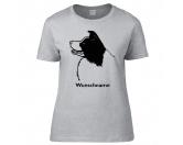 Taschen & RucksäckeBaumwolltaschenBorder Collie 2 - Hunderasse T-Shirt