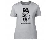 Bekleidung & AccessoiresHundesportwesten mit Hundemotiven inkl. Rückentasche MIL-TEC ®Briard 1 - Hunderasse T-Shirt