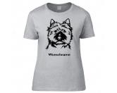Bekleidung & AccessoiresHundesportwesten mit Hundemotiven inkl. Rückentasche MIL-TEC ®Cairn Terrier - Hunderasse T-Shirt