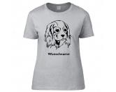Für MenschenHunde Motiv Handtuch -watercolour-Cavalier King Charles Spaniel 2 - Hunderasse T-Shirt
