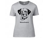 Warnwesten & SicherheitswestenWarnwesten mit Hunderasse MotivenDalmatiner 1 - Hunderasse T-Shirt