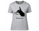 Warnwesten & SicherheitswestenWarnwesten mit Hunderasse MotivenDobermann - Hunderasse T-Shirt