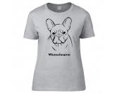 Taschen & RucksäckeBaumwolltaschenFranzösische Bulldogge - Hunderasse T-Shirt