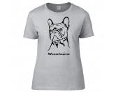Bekleidung & AccessoiresGesichtsabdeckungFranzösische Bulldogge 2 - Hunderasse T-Shirt