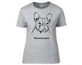 SoftshelljackenSoftshell-Jacke HundemotivFranzösische Bulldogge 3 - Hunderasse T-Shirt