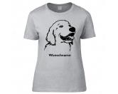 Für MenschenHunde Motiv Handtuch -watercolour-Golden Retriever 1 - Hunderasse T-Shirt