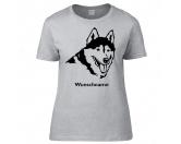 Bekleidung & AccessoiresSchals für TierfreundeHusky 2 - Hunderasse T-Shirt