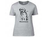 Für MenschenHunde Motiv Handtuch -watercolour-Labrador Retriever - Hunderasse T-Shirt