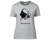 RucksäckeCanvas Rucksack HunderassenMops 1 - Hunderasse T-Shirt