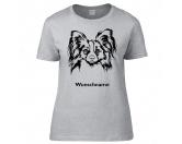 Fußmatten & LäuferFußmatten Hunderasse farbigPapillon 2 - Hunderasse T-Shirt