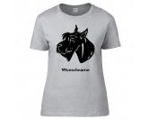 Warnwesten & SicherheitswestenWarnwesten mit Hunderasse MotivenRiesenschnauzer - Hunderasse T-Shirt
