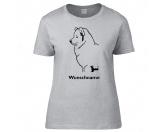 Bekleidung & AccessoiresHundesportwesten mit Hundemotiven inkl. Rückentasche MIL-TEC ®Samojede - Hunderasse T-Shirt