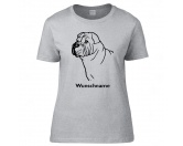Tierische-FigurenVersilberte Hunde-FigurenShar Pei - Hunderasse T-Shirt