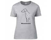 Bekleidung & AccessoiresHundesportwesten mit Hundemotiven inkl. Rückentasche MIL-TEC ®Weimaraner - Hunderasse T-Shirt