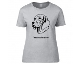 Bekleidung & AccessoiresHundesportwesten mit Hundemotiven inkl. Rückentasche MIL-TEC ®Weimaraner 2 - Hunderasse T-Shirt