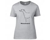 SchlüsselanhängerSchlüsselanhänger versilbertWhippet - Hunderasse T-Shirt