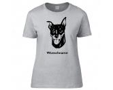 Aufkleber & TafelnHund Inside Auto AufkleberZwergpinscher - Hunderasse T-Shirt