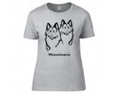 Bekleidung & AccessoiresHundesportwesten mit Hundemotiven inkl. Rückentasche MIL-TEC ®Altdeutscher Schäferhund 2 Köpfe - Hunderasse T-Shirt