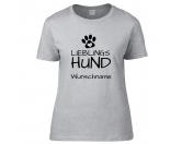 Für TiereFutterplatz-Matten & UnterlagenHundesport T-Shirt Lieblingshund