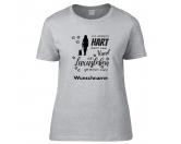 Schenken & ZubehörEinzigartige GeschenkideenHundesport T-Shirt Lieblingshund -Ich arbeite hart- Hund 1