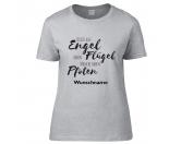 Schmuck & AccessoiresMagnetschmuckHundesport T-Shirt -Engel haben Flügel-