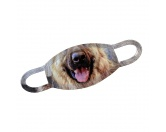 Für MenschenAuto-SonnenschutzGesichtsabdeckung - Schäferhund Schnute