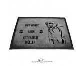 Für Menschen% SALE %Labrador Retriever - Fußmatte - Schmutzfangmatte - 40 x 60 cm