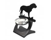 Fußmatten & LäuferFußmatten Hunderasse farbigBordeaux Dogge Teelichthalter aus Stahl