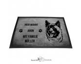 Bekleidung & AccessoiresHundesportwesten mit Hundemotiven inkl. Rückentasche MIL-TEC ®Akita 1 - Fußmatte - Schmutzfangmatte - 40 x 60 cm
