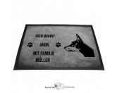 Fußmatten & LäuferFußmatten Hunderasse farbigDobermann - Fußmatte - Schmutzfangmatte - 40 x 60 cm