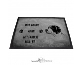 Bekleidung & AccessoiresHundesportwesten mit Hundemotiven inkl. Rückentasche MIL-TEC ®English Pointer 2 - Fußmatte - Schmutzfangmatte - 40 x 60 cm