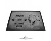 Fußmatten & LäuferFußmatten Hunderasse farbigGolden Retriever 3 - Fußmatte - Schmutzfangmatte - 40 x 60 cm