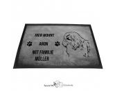 Fußmatten & LäuferFußmatten Hunderasse farbigHavaneser - Fußmatte - Schmutzfangmatte - 40 x 60 cm