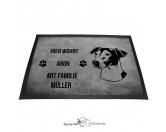 Fußmatten & LäuferFußmatten Hunderasse farbigJack Russel Terrier 3 - Fußmatte - Schmutzfangmatte - 40 x 60 cm