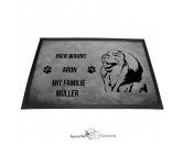 Bekleidung & AccessoiresHundesportwesten mit Hundemotiven inkl. Rückentasche MIL-TEC ®Leonberger - Fußmatte - Schmutzfangmatte - 40 x 60 cm