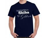 Schmuck & AccessoiresKetten / AnhängerHundespruch T-Shirt: Das sind keine Hundehaare, das ist Shiba Glitzer EINZELSTÜCK 2XL navy